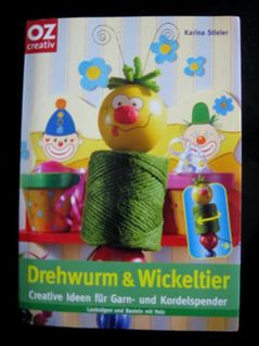 Karina Stieler - Drehwurm & Wickeltier / Bastelanleitung - Niddatal Zentrum