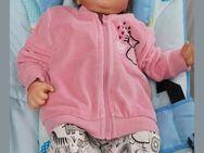 Baby Jacke mit Reißverschluß, Nicki, Gr. 62/68 - Immenhausen