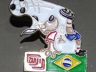 Pins Anstecknadel Sticker Brasilien Weltmeisterschaft 1992 fujifilm FIFA - Spraitbach