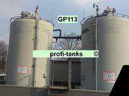GP113 gebrauchter 15.800 L PVC-GF-Tank Lagertank Flachboden vertikal stehend Wassertank Futtermitteltank Rapsoeltank Regenauffangtank Gülletank