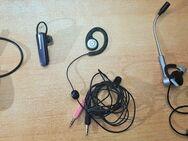 4 x Stück Bluetooth Headsets Motorola, Jabra, Logitech, Hi-Tex - Verden (Aller)