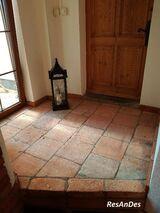 Ziegelplatten, Cottoplatten, Ziegelfußboden, Terracotta Fliesen