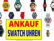 Ankauf von SWATCH Uhren, auch komplette Sammlungen. Modelle ab 1983 bis heute. - Düsseldorf