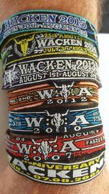 Wacken Festival WOA Bändchen Wristband Open Air 2019 Band 8
