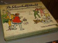 Die Schneeballschlacht Josef Scholz Verlag Originales Spielbrett - Spraitbach