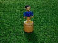 Erzgebirge Holz Wackelfigur Max von Max & Moritz 8 cm Drückerfigur! - Düsseldorf