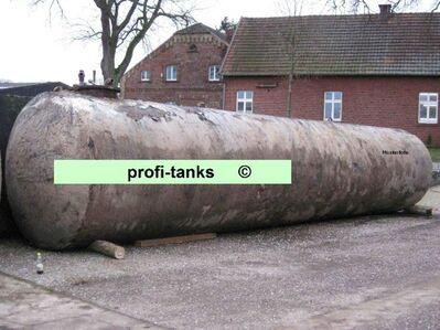 LW50 Stahltank 50.000 L GEBRAUCHT Löschwasserbehälter Löschwassertank Erdtank Wasserzisterne Lagerbehälter Wassertank Zisterne - Nordhorn