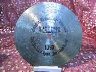 Kalliope Leipzig Polyphon-Platte, antike Lochplatte / antike Blechplatte Nr.1095 - Zeuthen