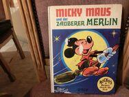 Micky Maus u. der Zauberer Merlin / v.1972 / Hardcover - Duisburg