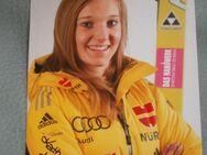 Katharina Althaus orig. sig. AGK /Autogrammkarte (D) Skispringen Damen - Weichs