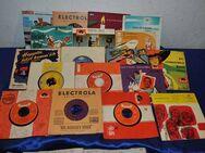 Sammlung von 18 Singles (Vinyl) der 50er Jahre - Zeuthen