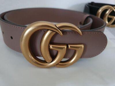 Gürtel Gucci GG Schnalle Ledergürtel Gürtel Unisex Belt Damen Herren - Nienburg (Weser)
