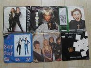 29 Singles Vinyl Schallplatten Abba Paul McCartney Michael Jackson OMD Kim Wilde Falco Fleetwood Mac Bay City Rollers Cliff Richard Madonna Marillion Spider Murphy Gang  Roy Black A Flock of Seagulls Wolf Mahn KajaGooGoo Men without Hats Chaka Khan usw. - Flensburg