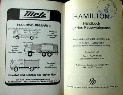 Handbuch für den Feuerwehrmann - von 1979 - ein Sammlerstück - Niederfischbach