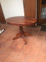 Biedermeier Tisch Ovalplatte Vintage