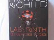 1 Thriller v.  Preston & Child, Labyrinth Elixier des Todes,Gebunden - Baunatal