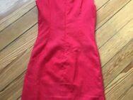 Rotes figurbetontes Etui - Leinenkleid von ZARA - Gr. S - Kleid - Bonn