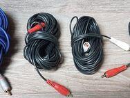4 x Stück Video / Audio Mono Cinch Kabel mit 10 - 20 Meter lang - Verden (Aller)