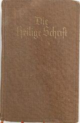 Bibel oder die Heilige Schrift des Alten und Neuen Testaments von 1937