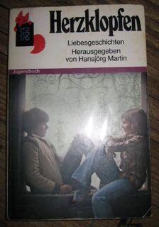 """Sehr schöner Jungendroman """"Herzklopfen"""" von Hansjörg Martin in gutem Zustand, Rowohlt Taschenbuch Verlag, stammt aus 1981, 110 Seiten, ISBN: 3499202417, zum Schutz für weiteren Gebrauch schon eingebunden, 4,- € - Unterleinleiter"""