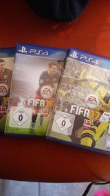 PS4 Spiele Fifa 15,16,17