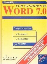 WORD 7.0 für Windows 95 – Computerwissen