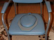 hellblauer Toilettenstuhl Intercare 440 Omega Eco bis 140kg - Bad Belzig