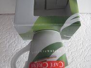 "NEU - Porzellantasse "" Cafe Creme, Filter & Flavour "" mit Originalkarton - Neuss"