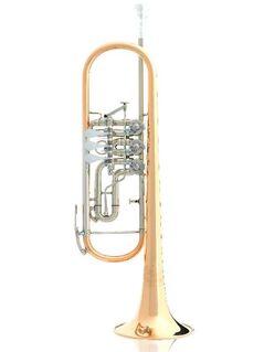 B&S 3005WTR Konzerttrompete 140er Schallbecher, Goldmessing, Sonderpreis - Hagenburg