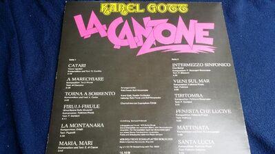 Schallplatte Karel Gott La Canzone - Berlin Lichtenberg