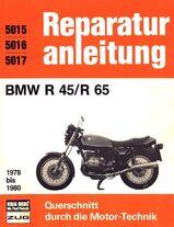 BMW R 45 + R 65 ab 1978 Reparaturanleitung (R. A.) in deutsch !