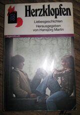"""Sehr schöner Jungendroman """"Herzklopfen"""" von Hansjörg Martin in gutem Zustand, Rowohlt Taschenbuch Verlag, stammt aus 1981, 110 Seiten, ISBN: 3499202417, zum Schutz für weiteren Gebrauch schon eingebunden, 4,- €"""