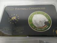 Fußball Champions Medaille Deutschland 1972, 1980, 1996 - Rees