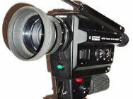 Set: COSINA Super 8 Kamera + Filmleuchte 1000 + Dreibein-Stativ - Krummhörn
