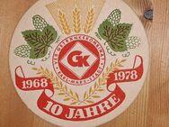 10 Jahre GetränkekombinatKarl-Marx-Stadt 1968 1978 Bierdeckel BD - Nürnberg