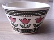 Staffel Limburg Echt Dom-Keramik Schale alt Blumen Vintage 5,- - Flensburg