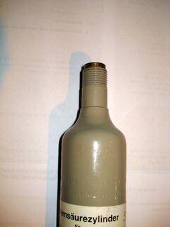 CO2 Flasche(275g)  für Wasserbereiter fast voll - Soest