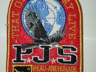 Rot Parajumpers PJS Patch Aufnäher Mantel Jacke Long Klett Logo Emblem - Nienburg (Weser)