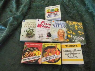 6 Minibücher unterschiedlicher Kategorien / Bücher / Sammler / Selten / 6 Stück - Zeuthen