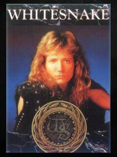 """Whitesnake - """"Is This Love"""" - Postkarte - Niddatal Zentrum"""