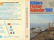 Buch - Köhlers Flotten Kalender 1982 - Das deutsche Jahrbuch der Seefahrt - Zeuthen