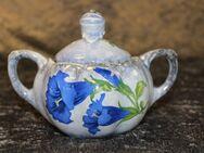 Antike Keramik Zuckerdose Ditmar Urbach AG / Hand bemalt / Rarität / Vintage - Zeuthen