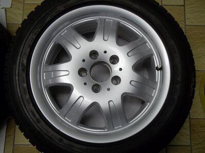 1 Satz Winterräder SLK R170 und R171 Mercedes Benz 7 Speichen Leichtschmiedefelgen 16 Zoll ( 7 x 16 ET 34 mm ) - Sickte