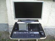 KOMPLETTPAKET Schöner PC ASRock 760GM-GS3 mit neuer Tastatur, Maus, 20 Zoll Monitor, allen Kabeln - Oberhaching