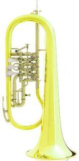 B & S Konzertflügelhorn mit Trigger. Originalverpackte Neuware - Hagenburg