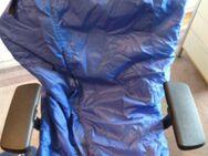 Schlupfsack Cape Rollstuhlsack Bischoff & Bischoff Gr. L blau gebr. - Essen