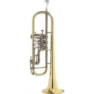 Deutsche Konzert - Trompete B & S, Neuinstrument mit Garantie, Modell 5/3, lackiert - Hagenburg