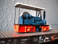 H0f Standmodell Dampflokomobile - Gotha Zentrum