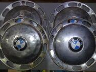 BMW original chrom Radkappen Nabenblenden Radzierblenden Oldtimer 32cm A - Spraitbach