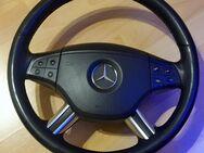 Multifunktions-Lederlenkrad A1644605103 mit Airbag Mercedes W164 - Verden (Aller)